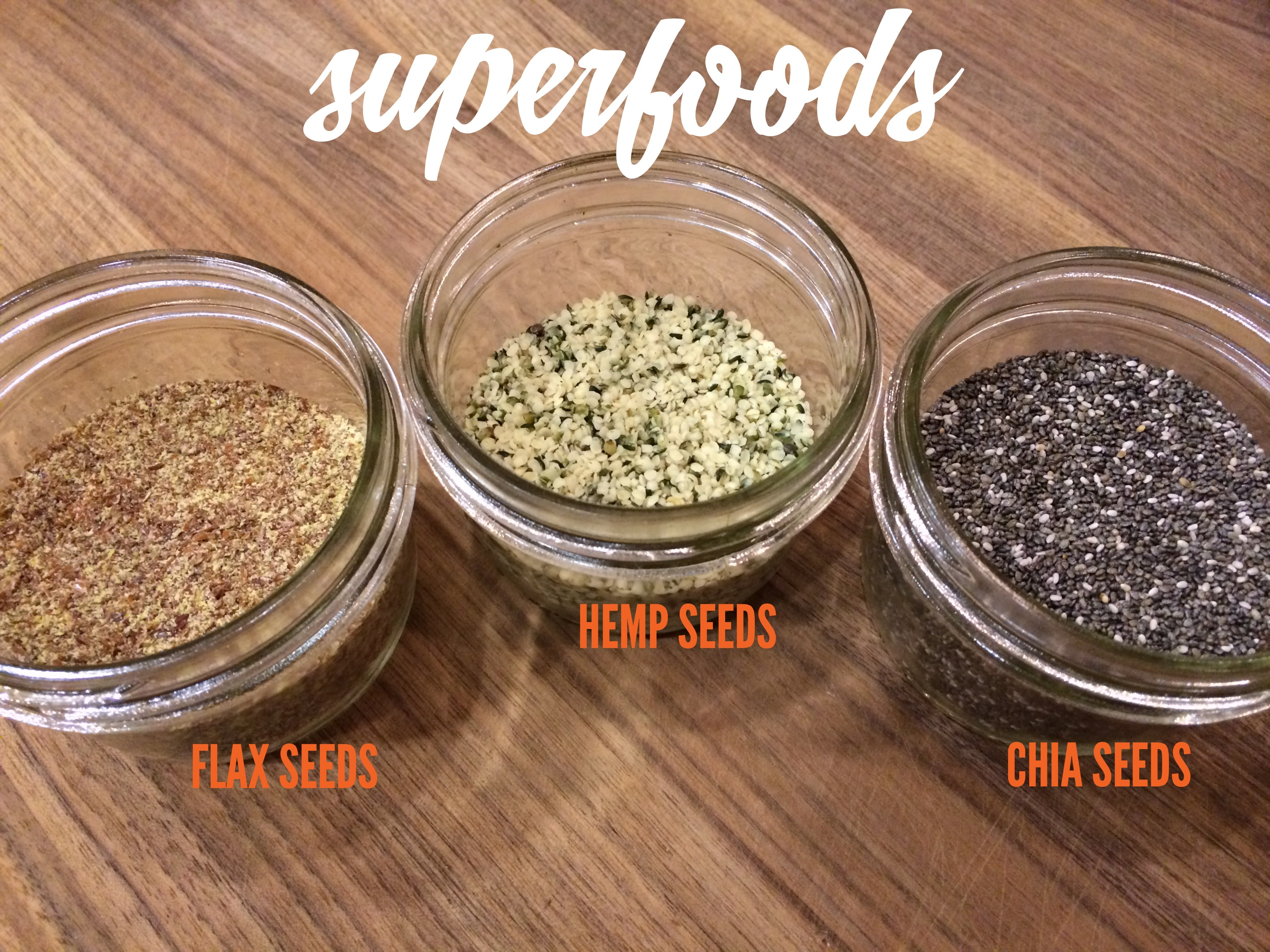my 3 favorite superfoods and how to use them